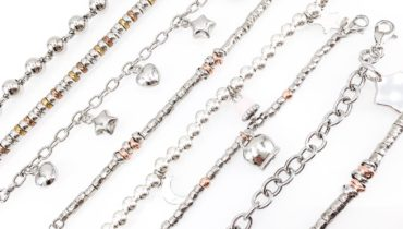 Acquistare bracciali in argento: ideali per ogni outfit